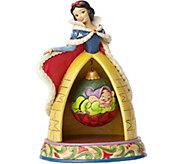 Jim Shore Disney Traditions Snow White Christmas Figurine - C214257