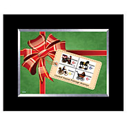 Christmas Toy Framed Stamp Collection - C214159