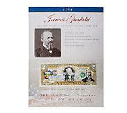 US Presidents Colorized $2 Bill Series - C27859