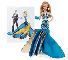 Happy Birthday Ken Barbie Doll with Lithograph by Mattel