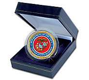 Armed Forces Commemorative Colorized JFK Half Dollar - Marines - C212165