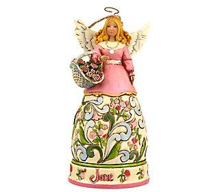 Jim Shore Heartwood Creek Angel of the Month -June