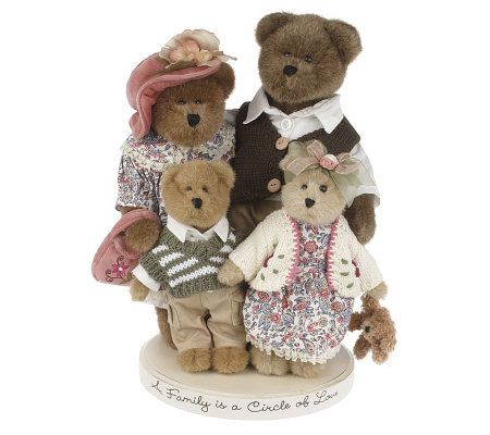 Boyds a family is a circle of love bearybrooks family for Brooks brothers garland shirt factory