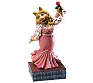Jim Shore Disney Traditions Miss Piggy Muppet sFigurine - C213973