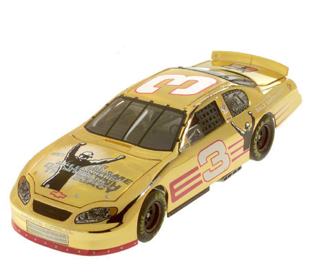 Race Fans Dale Earnhardt Foundation 1:24 Scale 24K Gold Plated Car