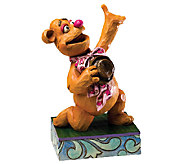Jim Shore Disney Traditions Fozzie Bear Muppets Figurine - C213975