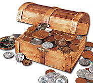 Treasure Chest of 51 Historic Coins - C212877