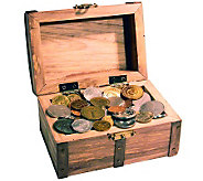 Treasure Chest of 50 Foreign Coins - C213777