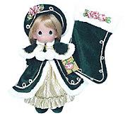 Precious Moments Victorian Splendor 24th AnnualStocking Doll - C214079