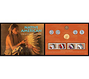 Native American West Coin and Stamp Collection - C214179
