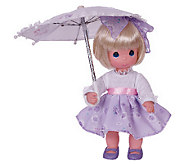 Precious Moments Shower Me with Love Blonde Doll - C214085