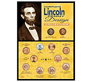 Complete Lincoln Penny Design Collection - C213689