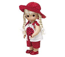 Precious Moments Lucky I Spotted You Blonde Doll image