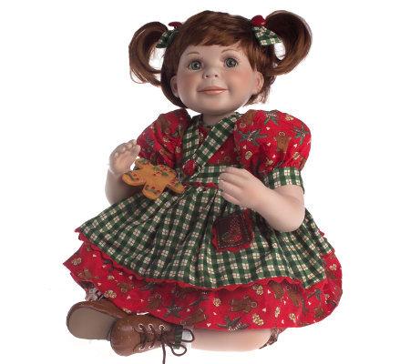 Quot Christmas Cookie Quot Ltd Ed 13 Quot Porcelain Doll By Marie