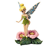 Jim Shore Disney Traditions Tinker Bell FlowerFigurine - C213997