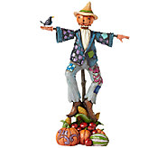 Jim Shore Heartwood Creek Scarecrow with Pumpkins - C214097