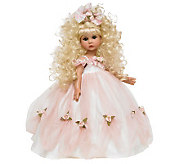 The Doll Maker Graceful As Can Be Blonde 18 Vinyl Doll - C213299