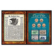 New York Times Civil War Coin & Stamp Collection - C213399