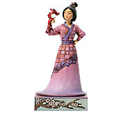 Jim Shore Disney Traditions Mulan with Mushu Figurine - C213999