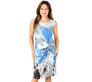 Kleid Knotenraffung