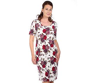 Kleid Rosen-Druck