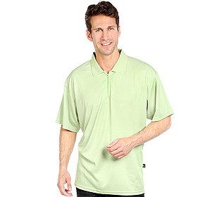 Poloshirt Rippkragen