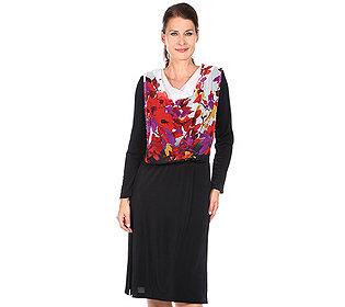 Kleid Chiffon-Oberteil
