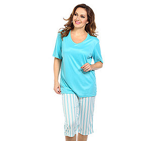 Pyjama Streifendruck
