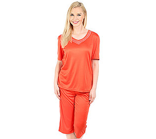 Pyjama V-Auschnitt