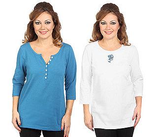 2 Shirts Zierdetails