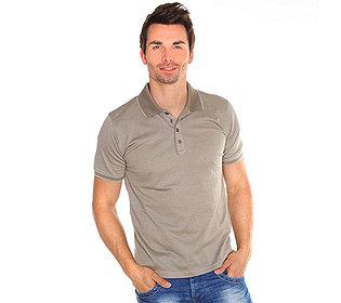 Poloshirt Seitenschlitze