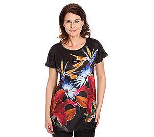 Shirt Floral-Druck