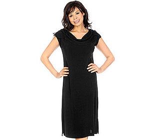 Kleid Chiffon-Kragen