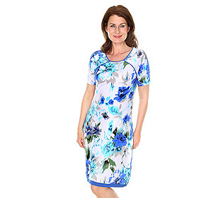 Kleid Floral-Druck