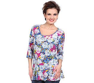 Shirt Blüten-Druck