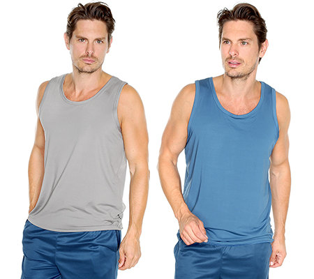 MEN'S TOUCH Mikrofaser Achselshirt Farbmix 3er Pack