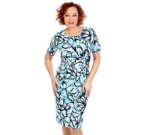 Kleid Floraldruck