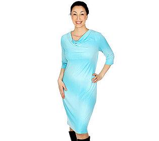 Kleid Silberstreifen