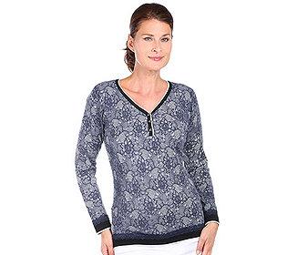 Pullover Spitzendruck