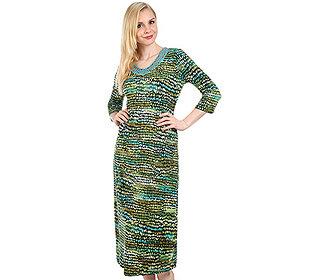 Kleid Mosaik-Druck