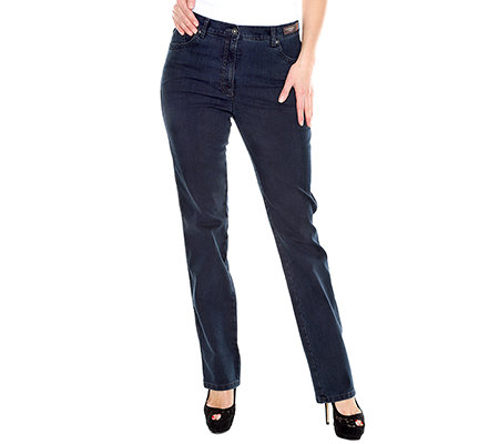 RAPHAELA by BRAX Damenhose Ina Ringdenim Zierstickerei Pro Form Super Slim