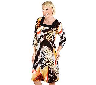 Kleid Carré-Ausschnitt