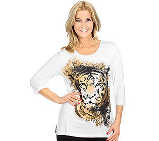 Shirt Tiger-Print