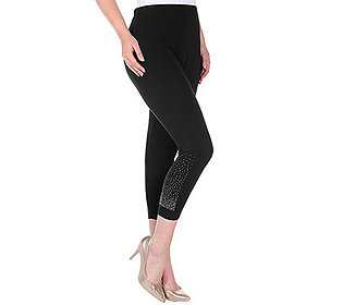 Leggings Strassdetail
