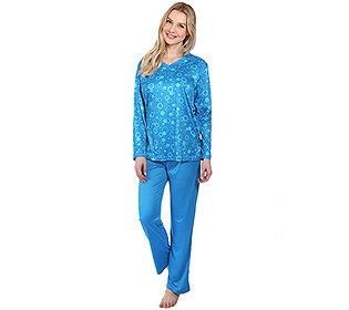 Pyjama Spitzen-Ausschnitt