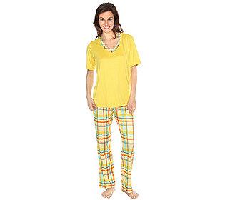 Pyjama Karo-Druck