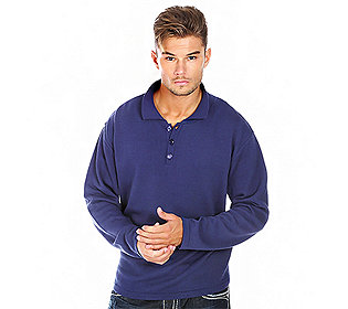 Pullover Knopfleiste