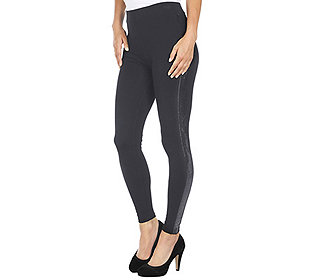 Leggings Paillettenband