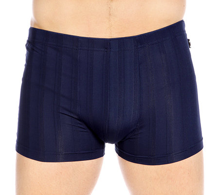MEN'S TOUCH Mikrofaser Retro-Shorts Schattenstreifen 5er Packung