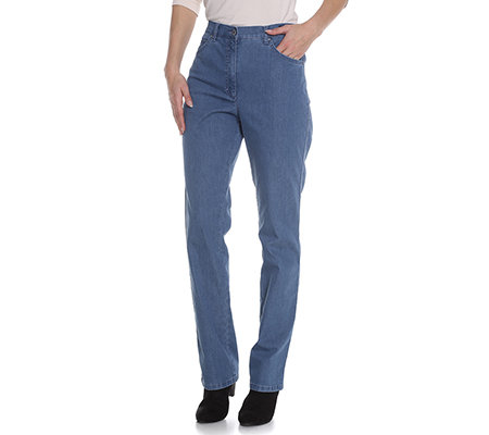 RAPHAELA by BRAX Hose Rosanna Sommer Denim Swarovski Elements Pro Form Slim